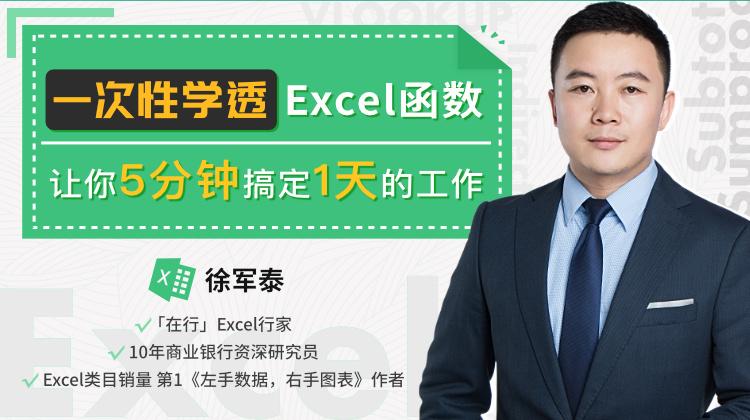 唯库网:一次性学透Excel函数,让你5分钟搞定一天的工作,免费下载学习