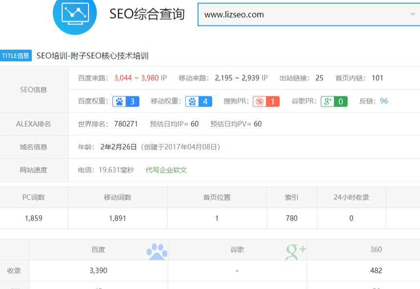 【核心seo】附子SEO关门课程:大型权重流量站SEO实战课程