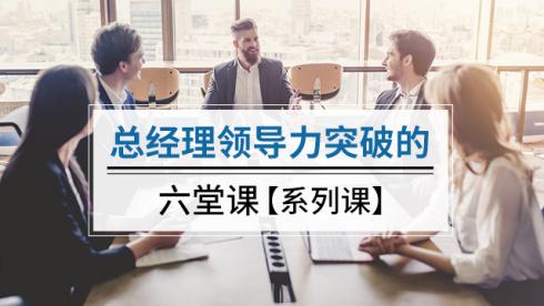 企业管理视频课程:总经理领导力突破的六堂课(35G)