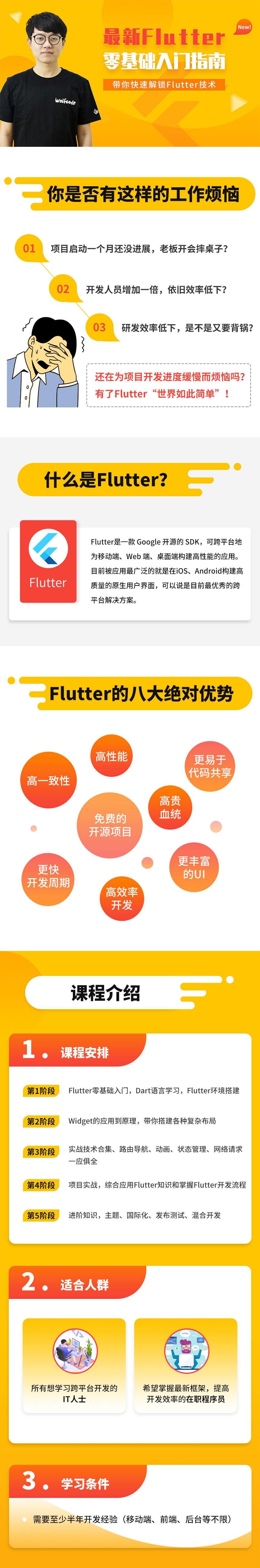 小码哥Flutter零基础入门指南 快速解锁Flutter技术