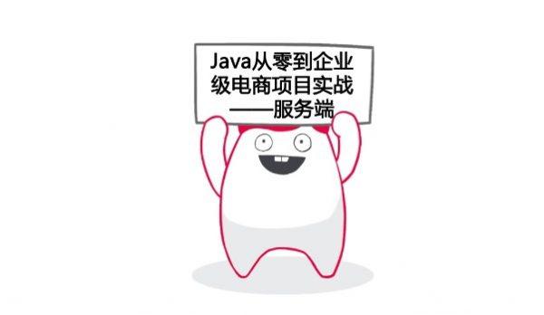从0开始 独立完成企业级Java电商网站开发-服务端