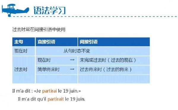 简明法语教程视频截图