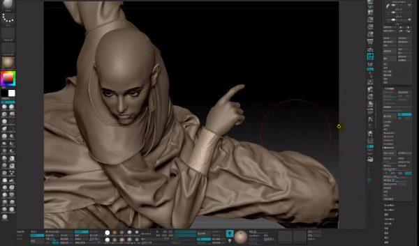 黑老道ZBrush造型艺术与渲染进阶研修班 视频截图